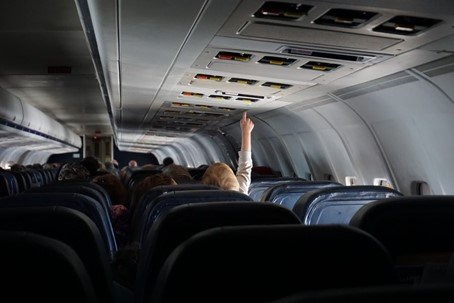 Kinderstoel vliegtuig