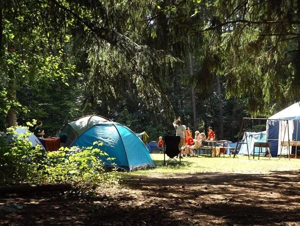 kinderstoel camping